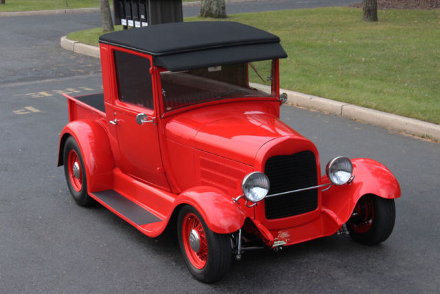 1928 ford pickup hot rod world class build model a truck 350 hotrod classic ford model a. Black Bedroom Furniture Sets. Home Design Ideas
