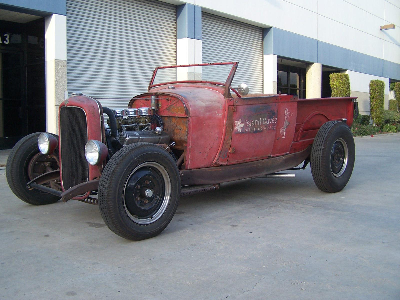 1928 Ford Roadster Pick, Rat Rod, SCTA, Hot Rod, Model A, 1932 Ford ...