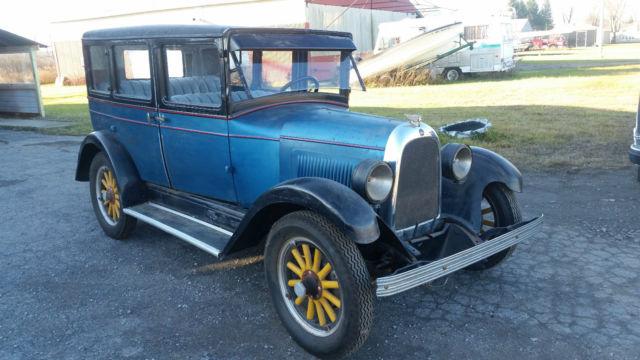 1928 Willys Whippet 4 Door Sedan New Interior Amp Roof