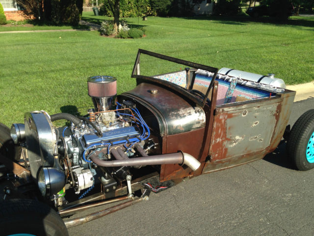 1928 1929 1930 Ford Model A Roadster Pickup Rat Rod Chevy