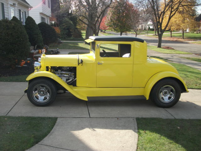 1929 Essex 2 Door Coupe Street Rod Rare Car Classic