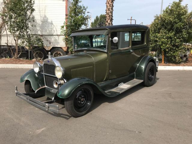 Marvelous 1929 Ford Model A 2 Door Sedan Street Rod Vintage Hot Rod Door Handles Collection Olytizonderlifede