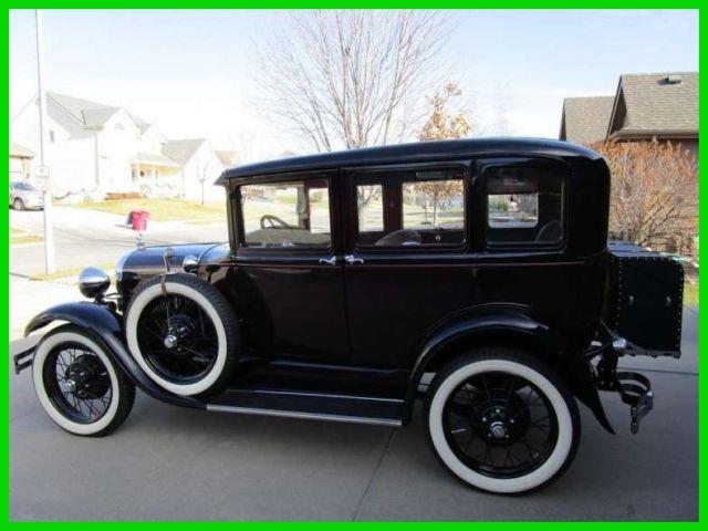 1929 ford model a 4 dr sedan 4 cylinder gasoline frame off for 1929 ford model a 4 door sedan