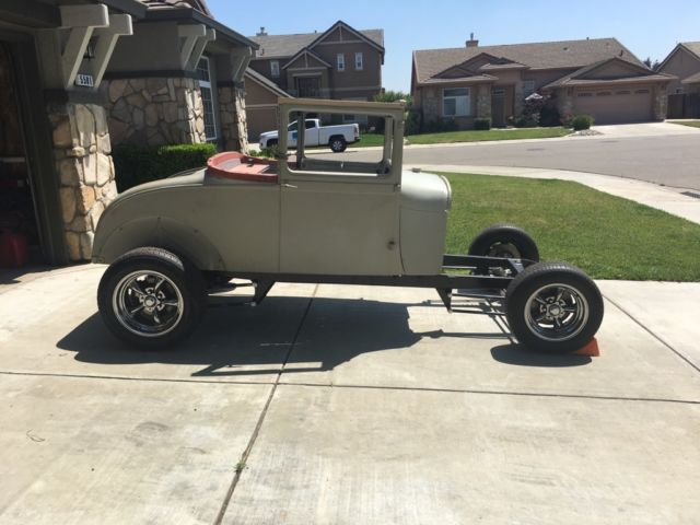 1929 ford model a coupe hot rod street rod project classic ford model a 1929 for sale. Black Bedroom Furniture Sets. Home Design Ideas