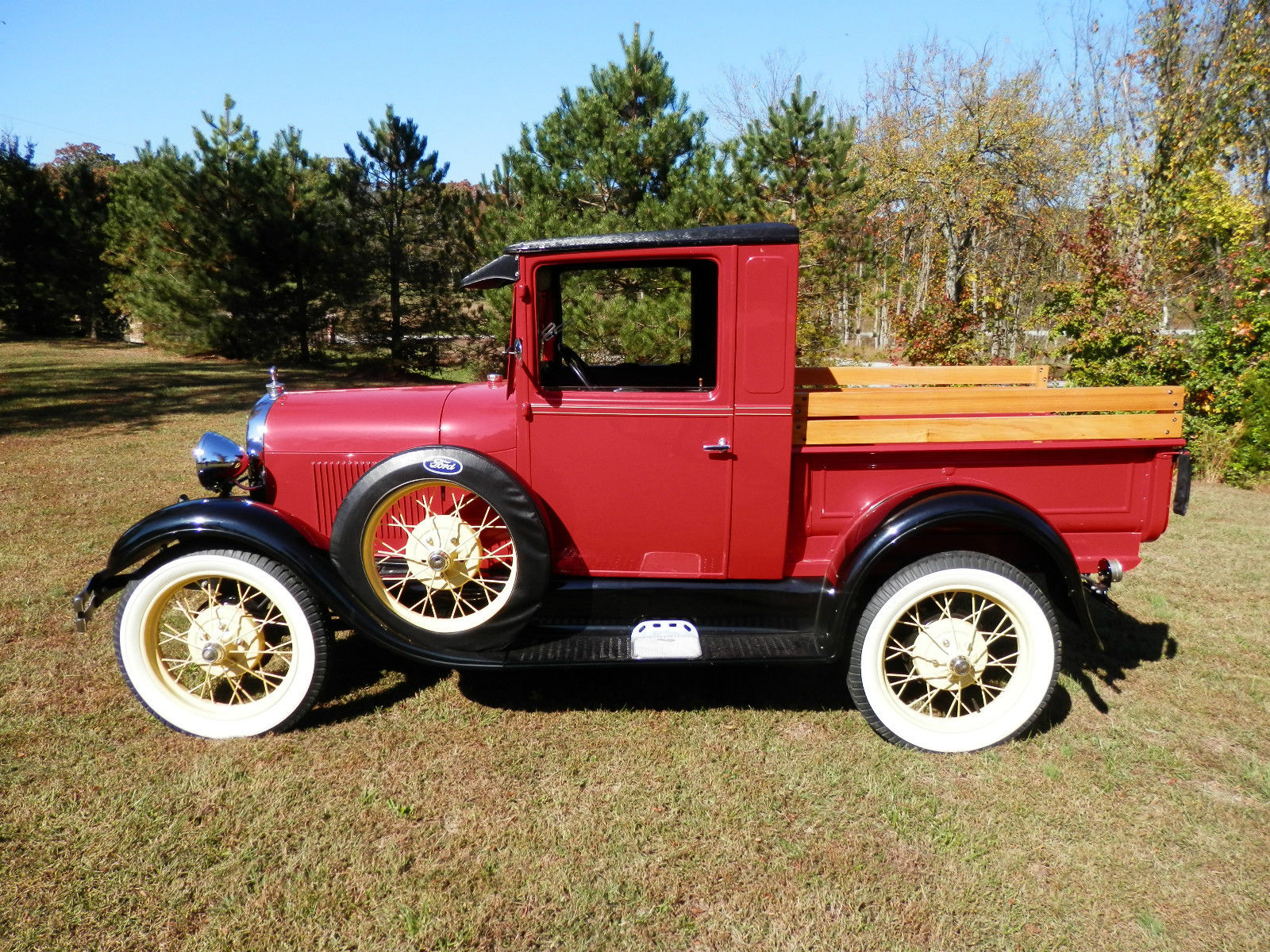 1929 ford model a ford pickup restored custom classic street rod antique truck classic ford. Black Bedroom Furniture Sets. Home Design Ideas