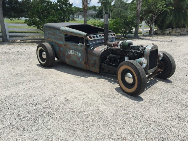 1929 ford model a rat rod featuring a cummins diesel and. Black Bedroom Furniture Sets. Home Design Ideas