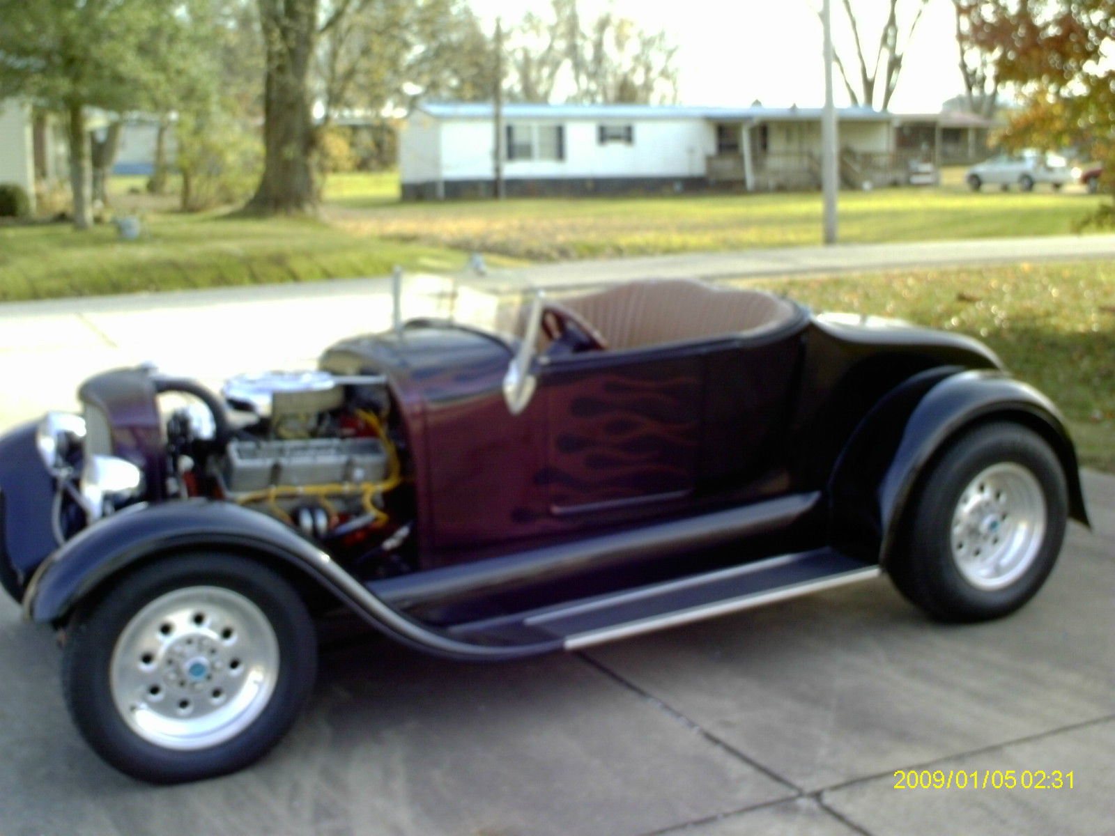 1929 FORD MODEL A ROADSTER STREETROD - Classic Ford Model A 1929 for ...