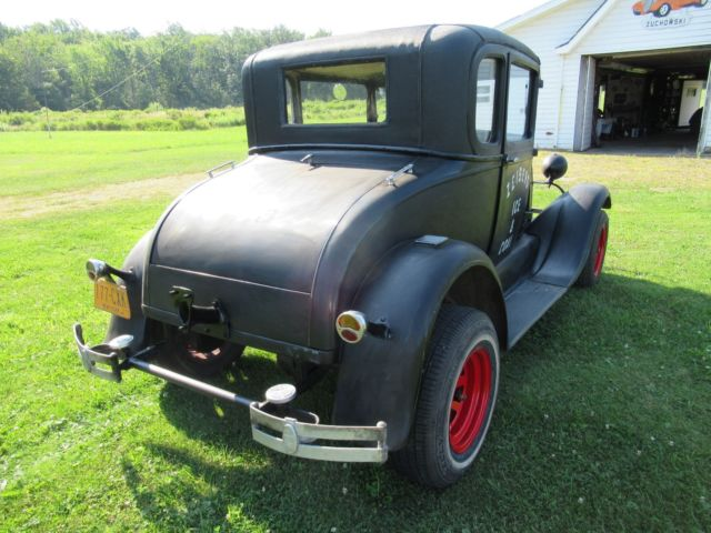 1929 ford model a special coupe drive restore rat rod project or barn find classic ford. Black Bedroom Furniture Sets. Home Design Ideas