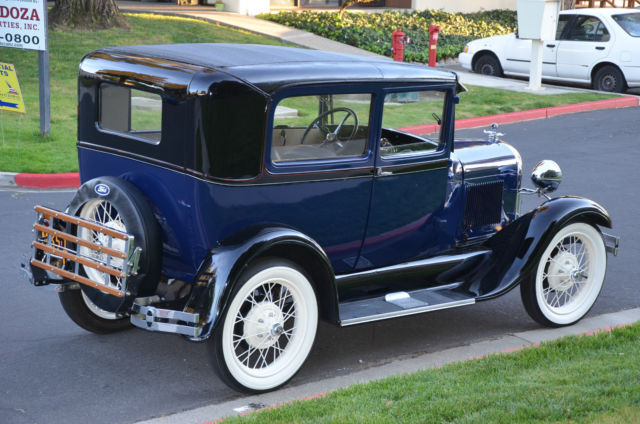 1929 Ford Model A Tudor Classic Ford Model A 1929 For Sale