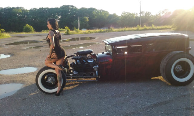 1929 Ford Tudor Rat Rod Classic Ford Model A 1929 For Sale