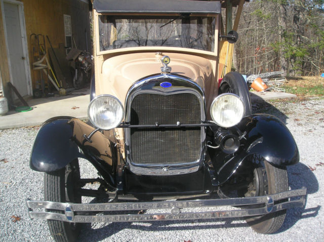 1929 Ford Woody Stationwagon - Classic Ford Model A 1929