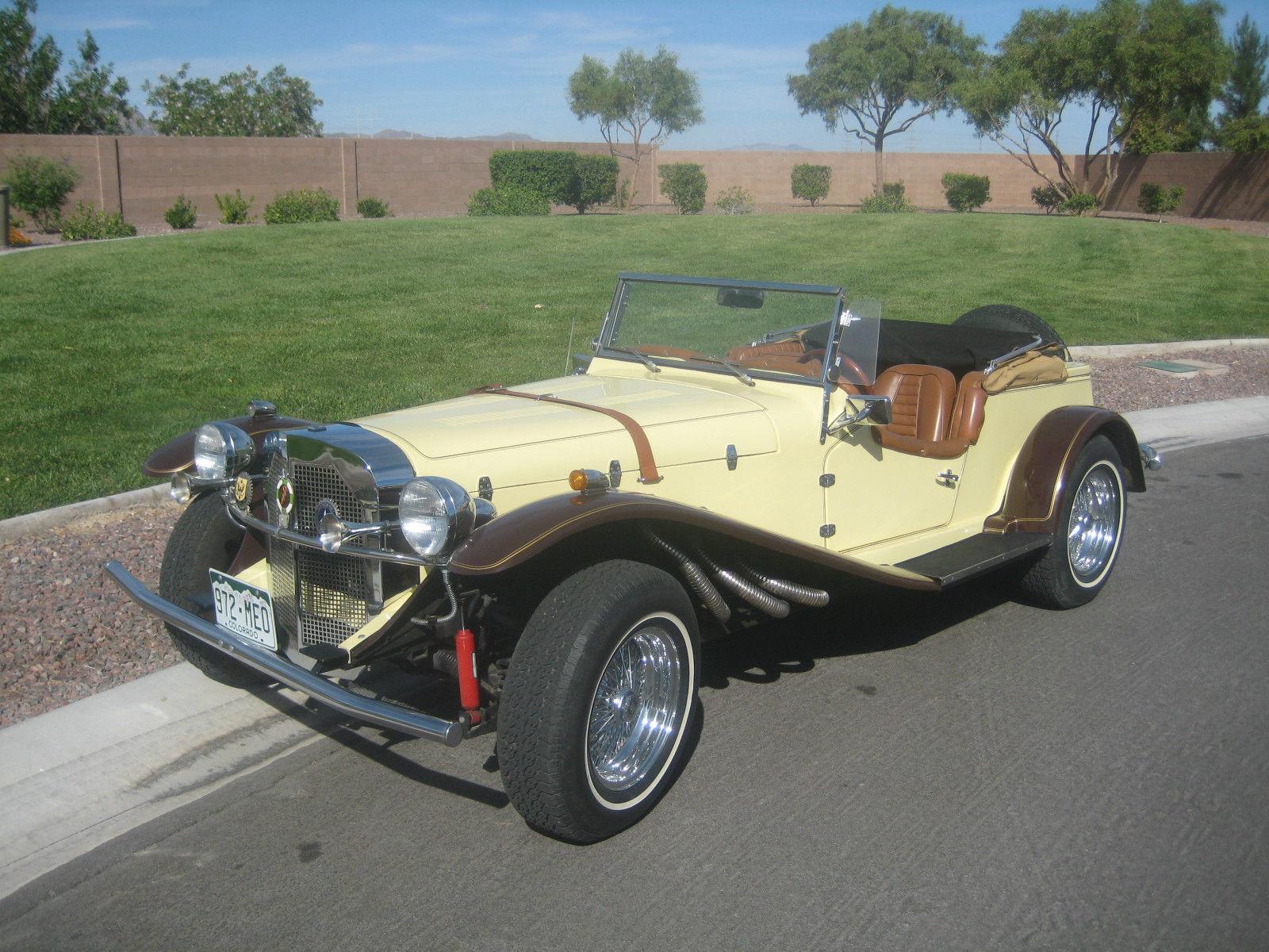 1929 mercedes gazelle roadster replica kit car. Black Bedroom Furniture Sets. Home Design Ideas