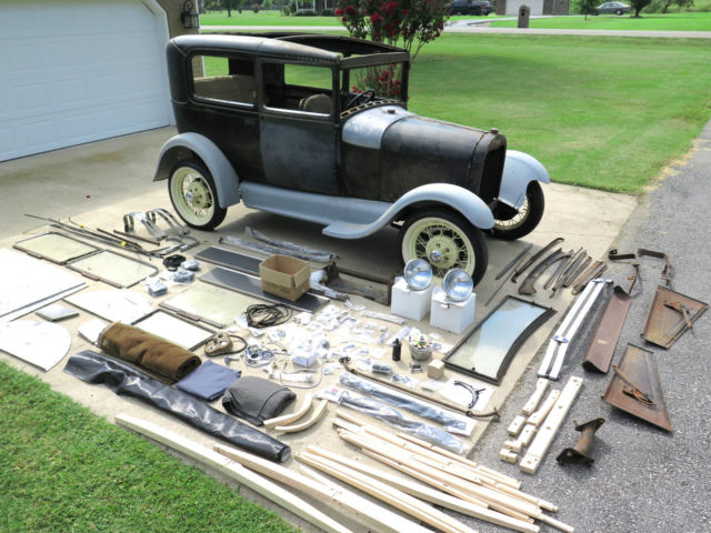 1929 model a ford tudor 2 door sedan lots of new parts w for 1928 chevrolet 2 door coupe for sale