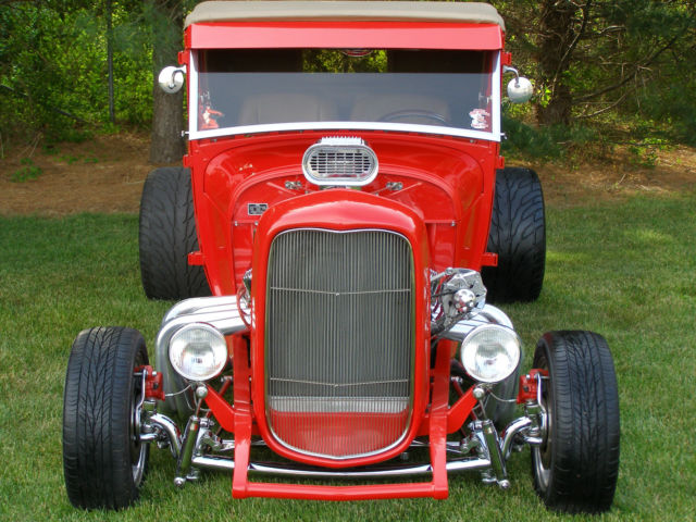 1929 Model A Hot Rod Incredible Build All Steel 1932