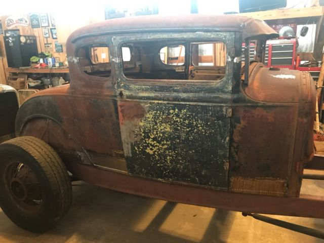 1930 1931 ford coupe hot rod project classic ford model a 1930 for sale. Black Bedroom Furniture Sets. Home Design Ideas