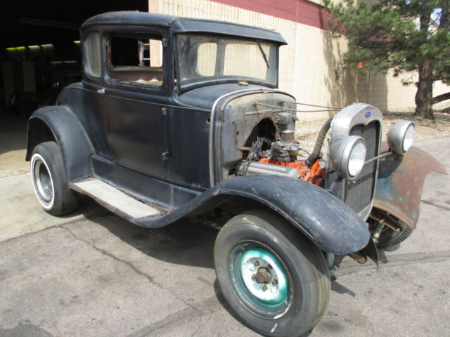 1930 1931 Ford Model A Coupe Legit 1960 s Build Rat Hot