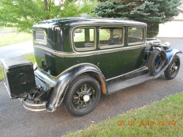 1930 buick series 60 sedan barn find dry solid montana car amazing condition classic buick. Black Bedroom Furniture Sets. Home Design Ideas