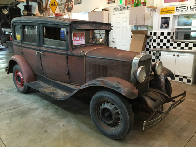 1930 chevrolet 4 door sedan runs and drives barn find 1927 for 1928 chevrolet 2 door coupe for sale