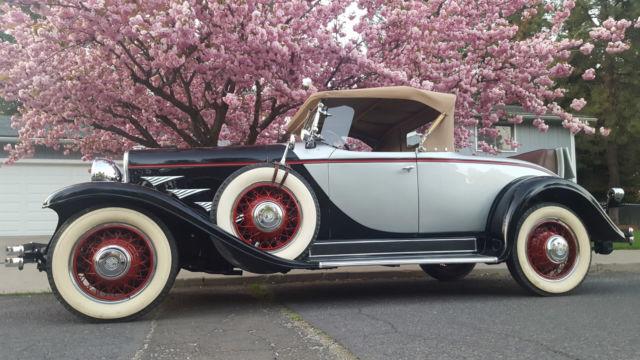 1930 Chrysler Model 77 Roadster Beautiful Car Classic