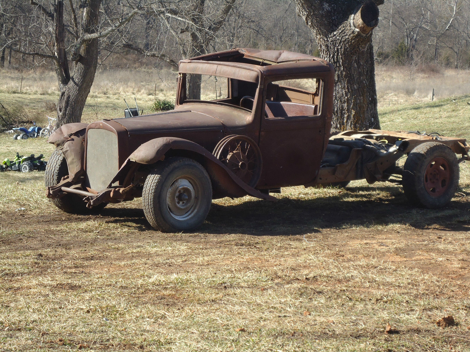 Desoto Rat Rod Pick Up V Dodge Plymouth Chevy Ford