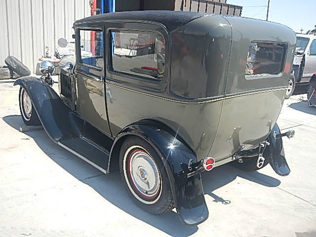 1930 ford 2 door sedan hot rod project 302 auto new frame for 1930 ford model a two door sedan