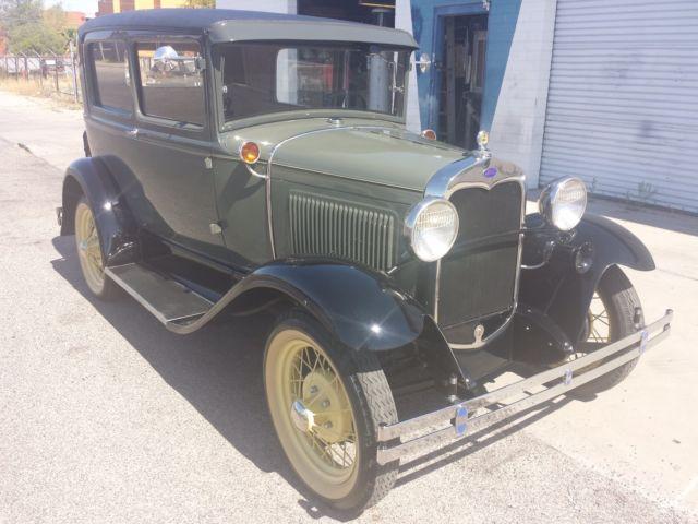 1930 Ford Model A 2 Door Sedan - Full Frame Off Restoration