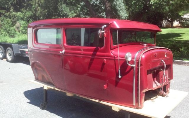 1930 Ford Model A 4 Quot Chop Hotrod Project Classic Ford