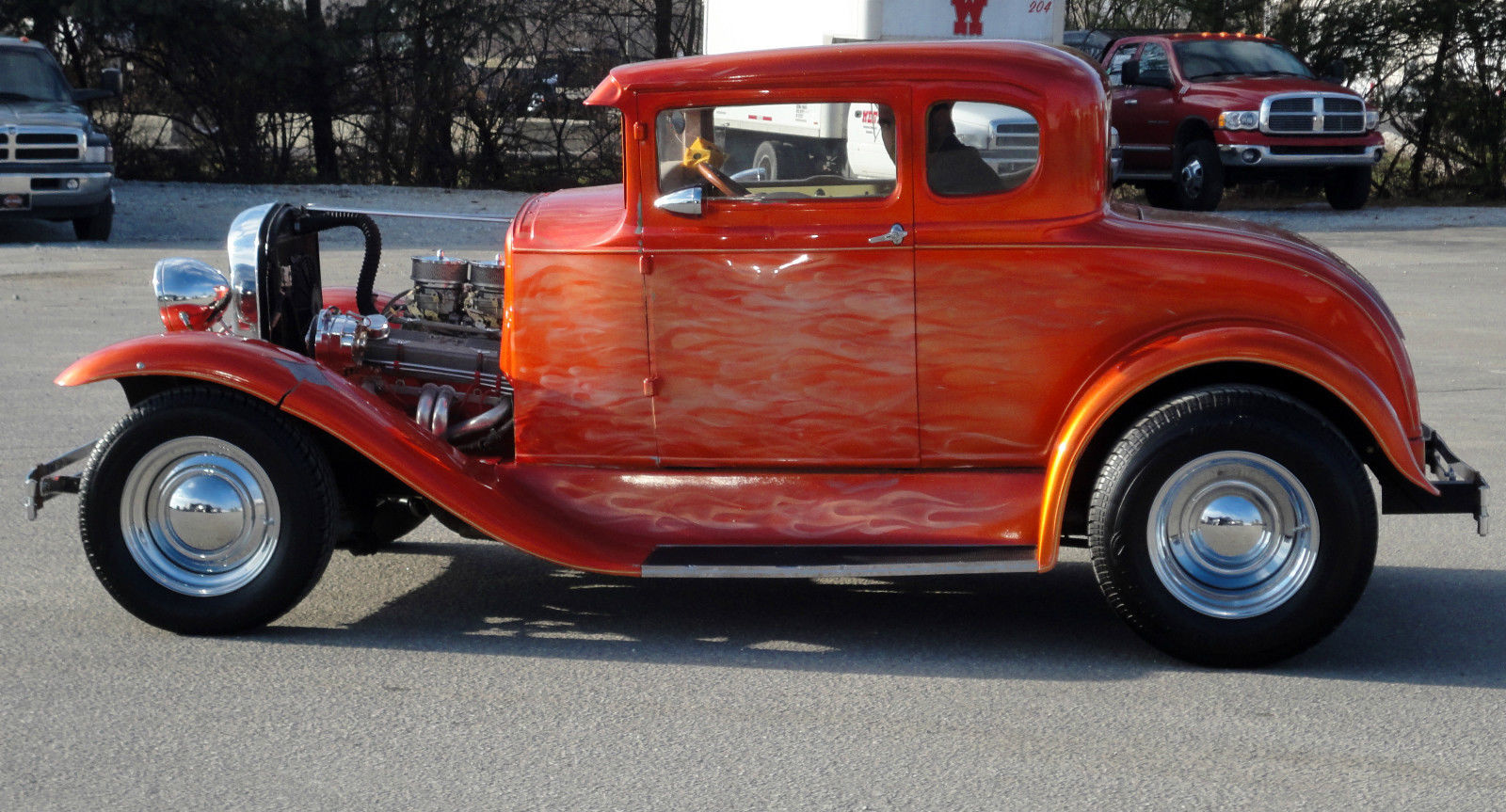 1930 ford model a 5 window coupe 305 dual carbs headers for 1930 model a 5 window coupe for sale