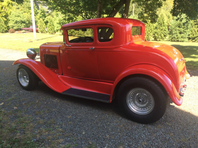 1930 Ford Model A 5 Window Coupe Street Rod 3 Chop