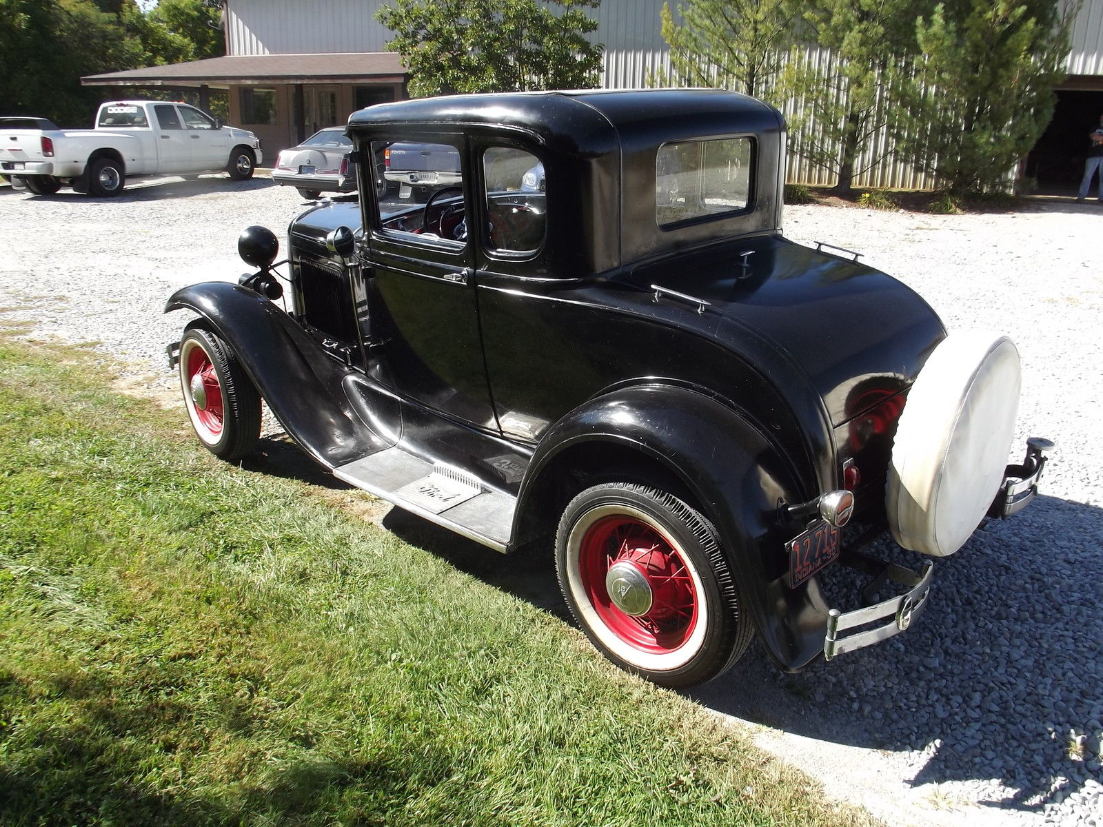 1930 ford model a coupe barn find true survivor early. Black Bedroom Furniture Sets. Home Design Ideas