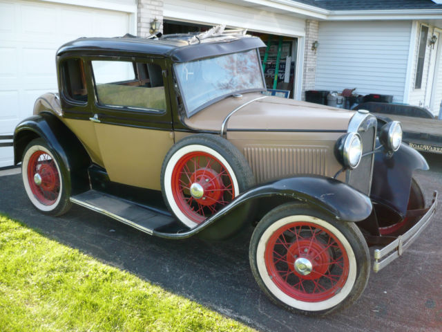 1930 ford model a coupe hot rat rod body damage 1931 1932. Black Bedroom Furniture Sets. Home Design Ideas