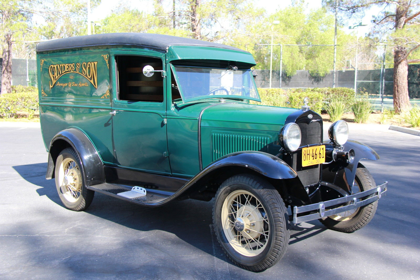 1930 ford model a delivery panel truck classic ford. Black Bedroom Furniture Sets. Home Design Ideas