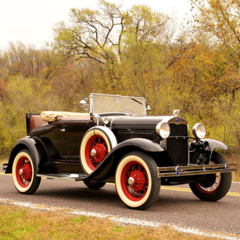 1930 Ford Model A Deluxe Rumble Seat Roadster Restored New