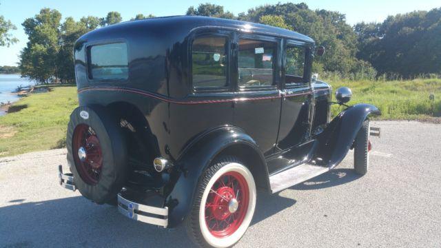 1930 ford model a fordor 4 door sedan restored classic for 1930 model a 4 door sedan