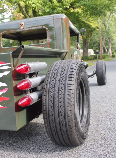 1930 ford model a hot rod rat rod military tribute. Black Bedroom Furniture Sets. Home Design Ideas