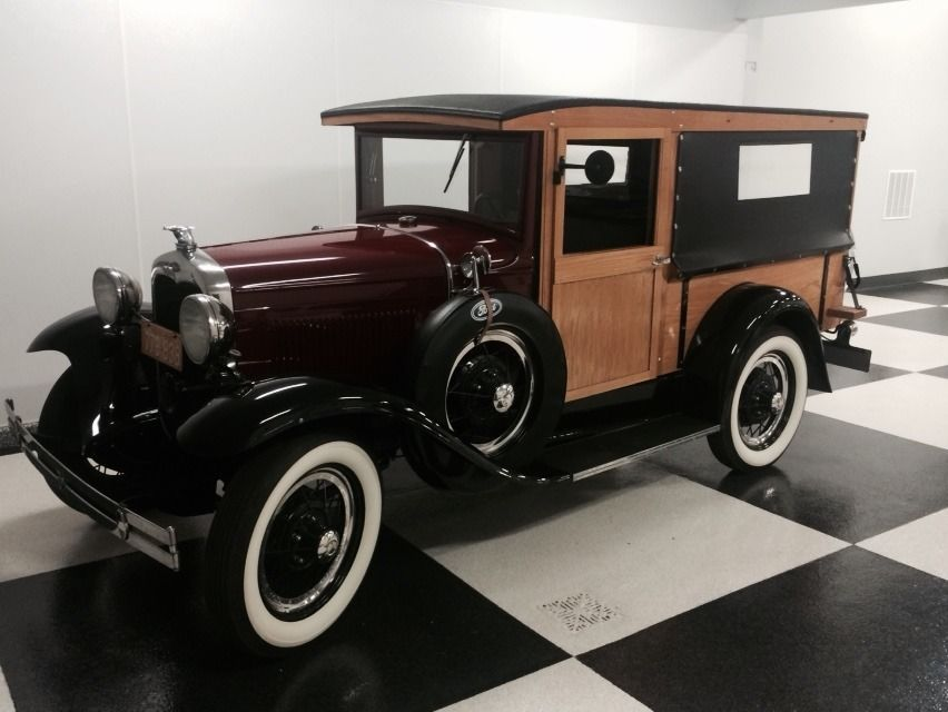 1930 FORD MODEL A HUCKSTER DELIVERY WAGON WOODIE OVERDRIVE BEST IN ...