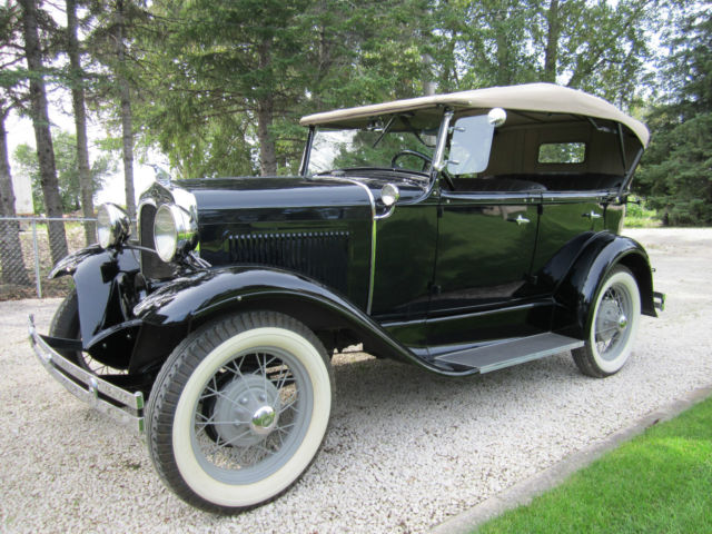 1930 ford model a phaeton 4 door convertible classic ford model a 1930 for sale. Black Bedroom Furniture Sets. Home Design Ideas