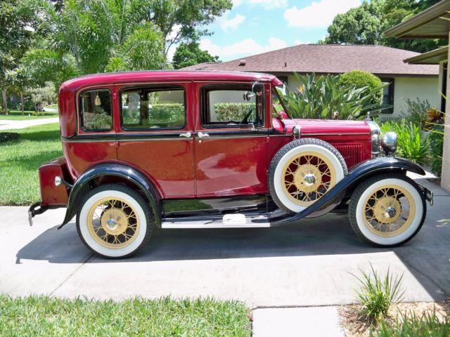 1930 ford model a super deluxe 4 door 3 three window sedan for 1930 model a 4 door sedan