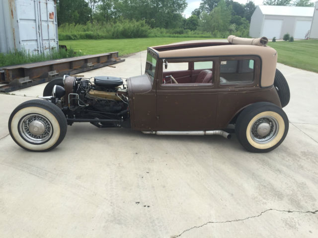 1930 ford model a vicky victoria rat rod cadillac big. Black Bedroom Furniture Sets. Home Design Ideas