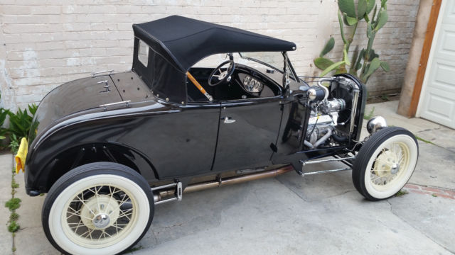 1930 Henry Ford Model A Roadster