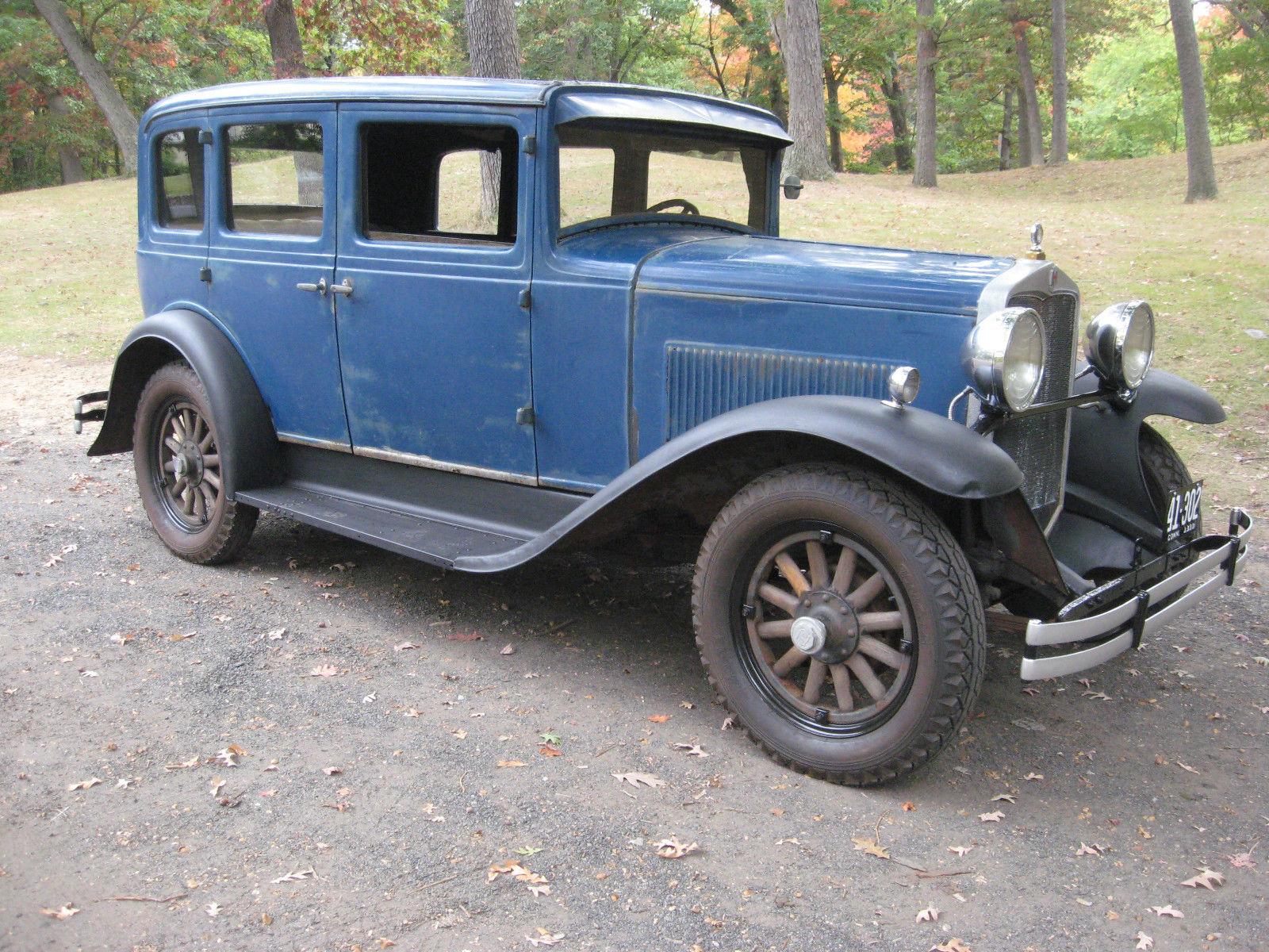 1930 Hupmobile Century Six Sedan for sale: photos, technical ...