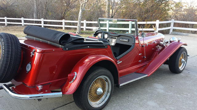 1930 mercedes benz ssk roadster replica custom show car for Custom mercedes benz for sale