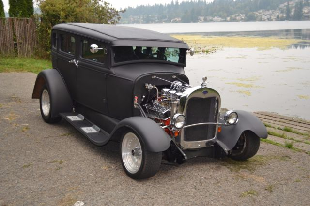 1930 Model A Ford 4 Door Murray With 29 Grill Shell