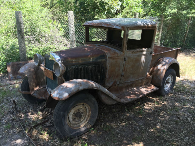 1930 model a ford closed cab pickup truck classic ford model a 1930 for sale. Black Bedroom Furniture Sets. Home Design Ideas