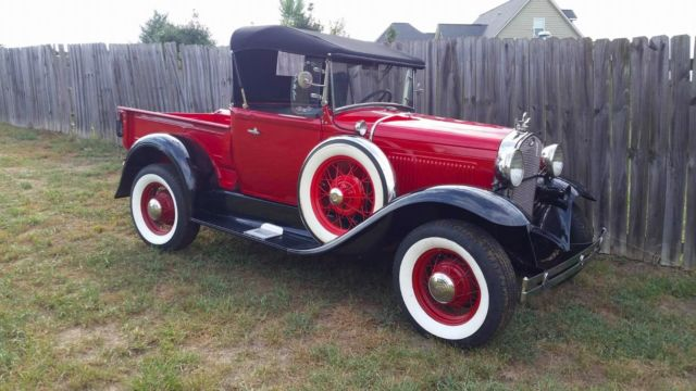 1930 Model A Ford Roadster Pickup Classic Ford Model A