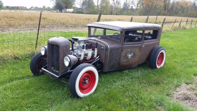 1930 model a ford sedan rat rod classic ford model a. Black Bedroom Furniture Sets. Home Design Ideas