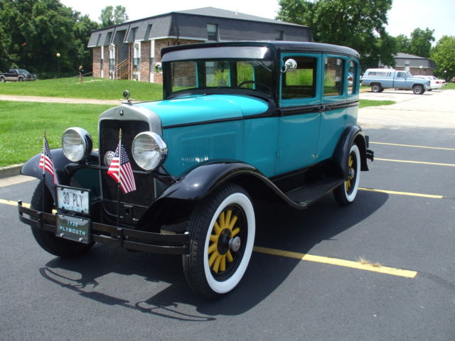1930 plymouth model 30 u classic plymouth other 1930 for for 1930 plymouth 4 door sedan