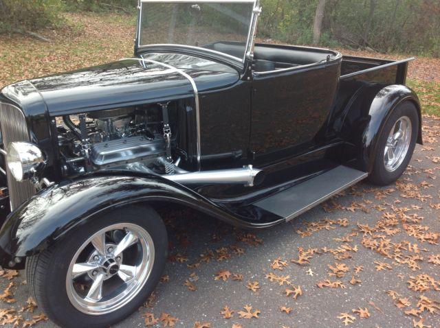 1931 1930 ford roadster pickup street rod hot rod. Black Bedroom Furniture Sets. Home Design Ideas