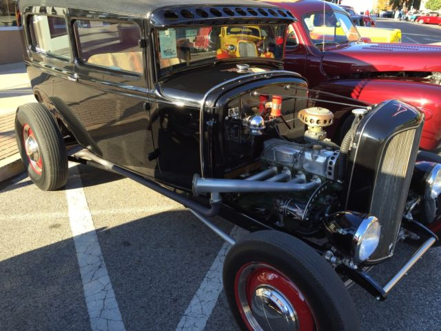1931 31 ford chopped top model a 2 door coupe old school for 1931 ford model a 2 door sedan