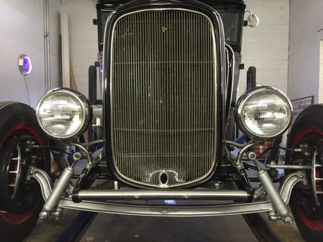 1931 31 Ford Chopped Top Model A 2 Door Coupe Old School